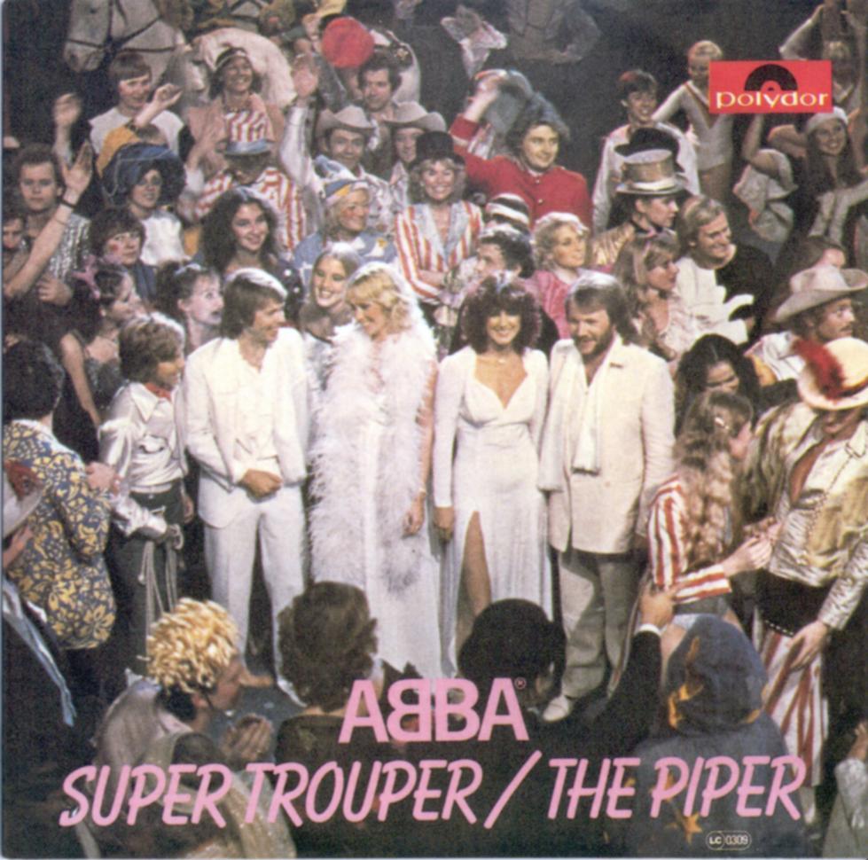 Cover: Super trouper, Abba