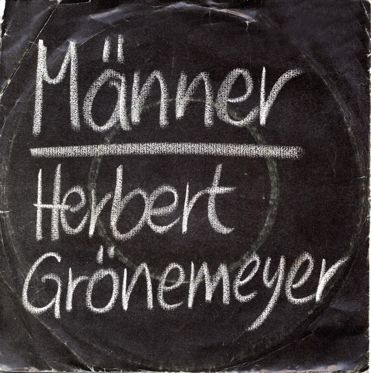 Cover: Männer, Herbert Grönemeyer