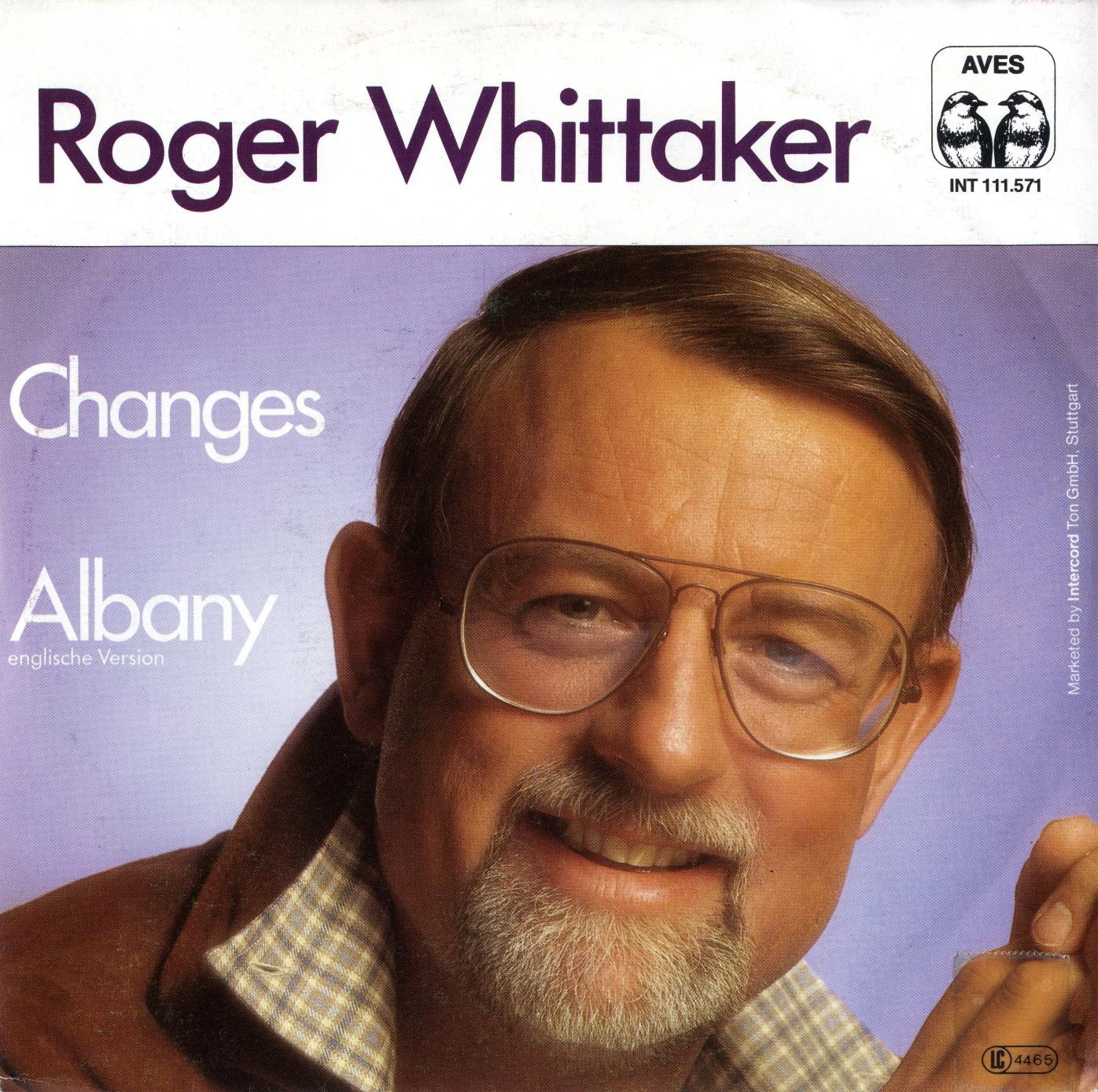 Cover: Albany, Roger Whittaker