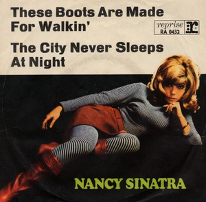 These boots are made for walkin' (Foto: Nancy Sinatra)