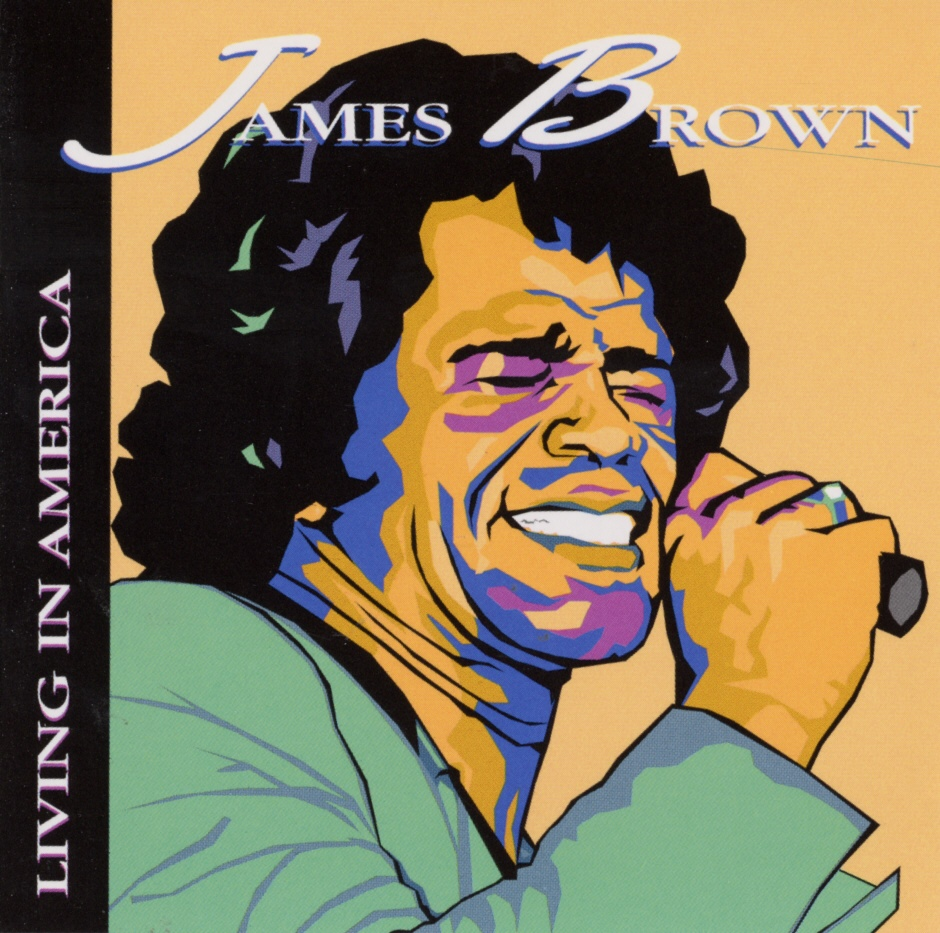 Cover: Living in America, James Brown