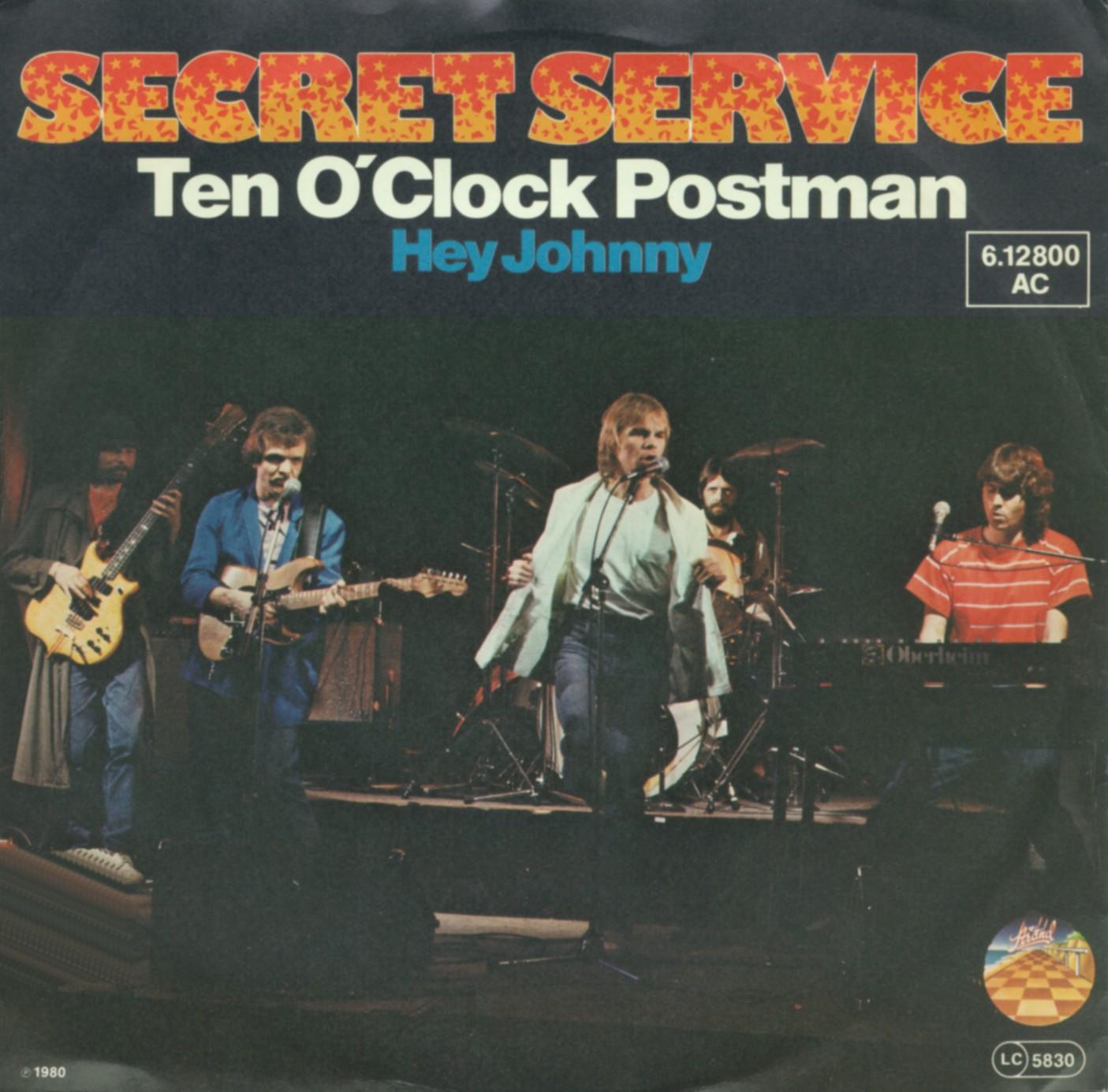 Cover: Ten o'clock postman, Secret Service