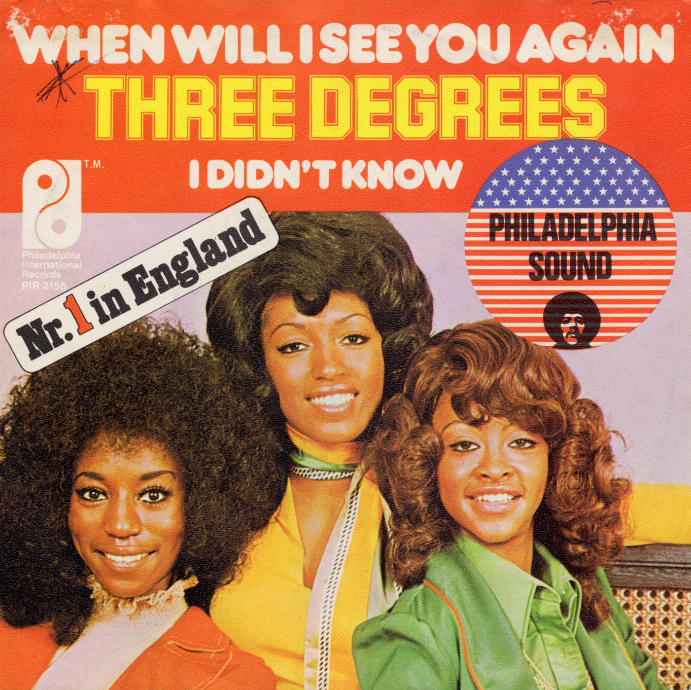 Cover: When will I see you again, The Three Degrees