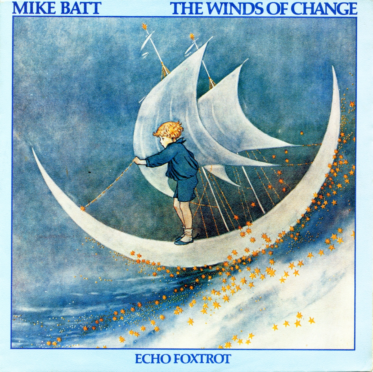Cover: The winds of change, Mike Batt