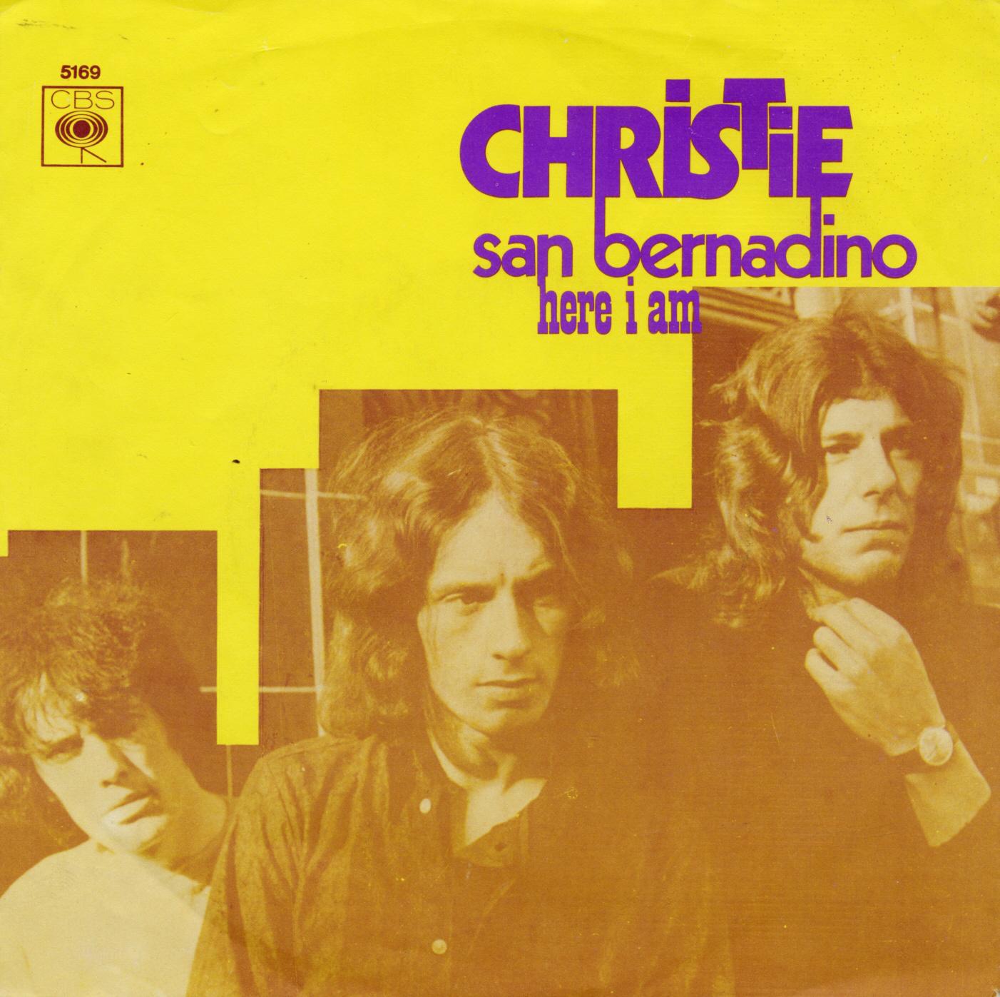 Cover: San Bernadino, Christie