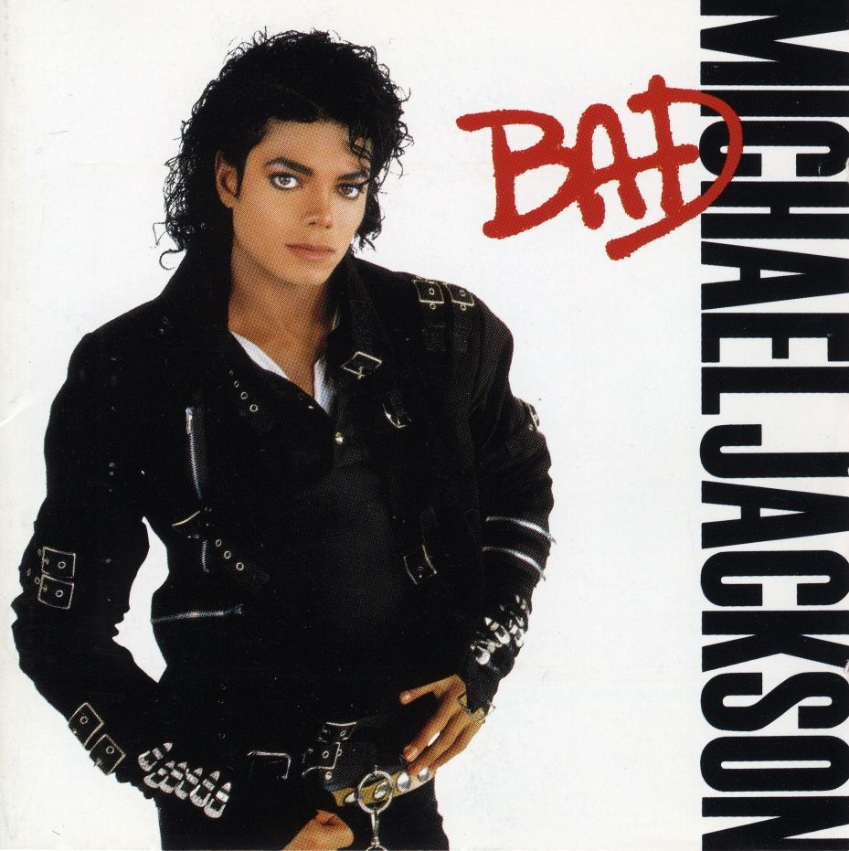 Cover: Bad, Michael Jackson