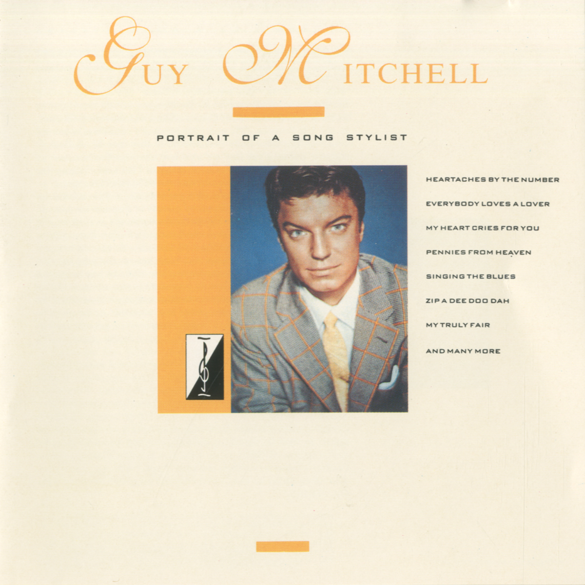 Cover: Singing the Blues, Guy Mitchell