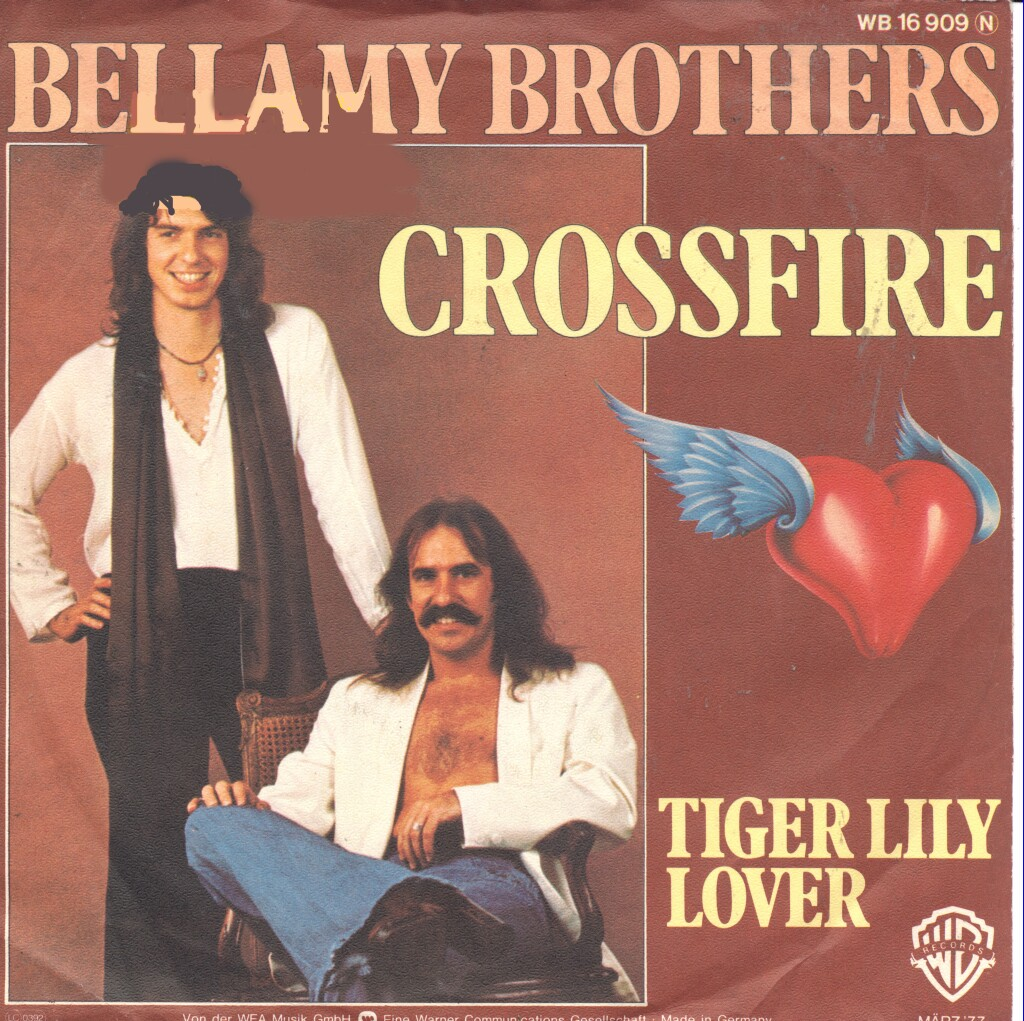 Cover: Crossfire, The Bellamy Brothers