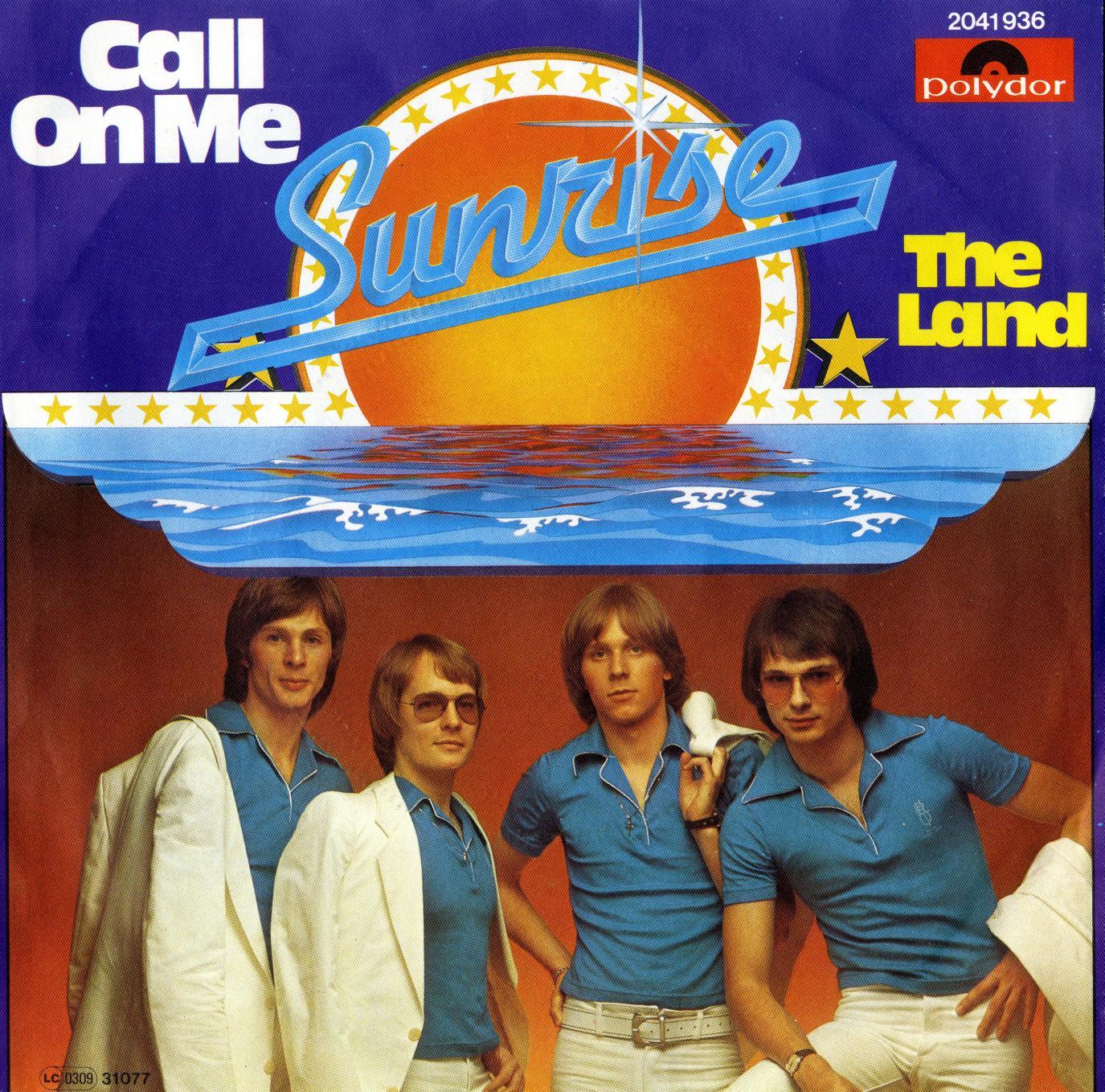 Cover: Call on me, Sunrise