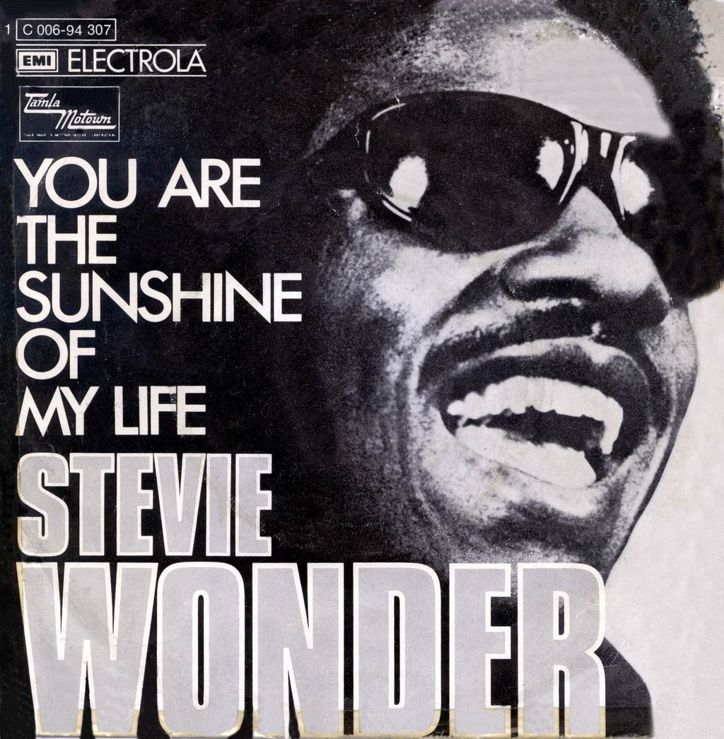 You are the sunshine of my life (Foto: Stevie Wonder)