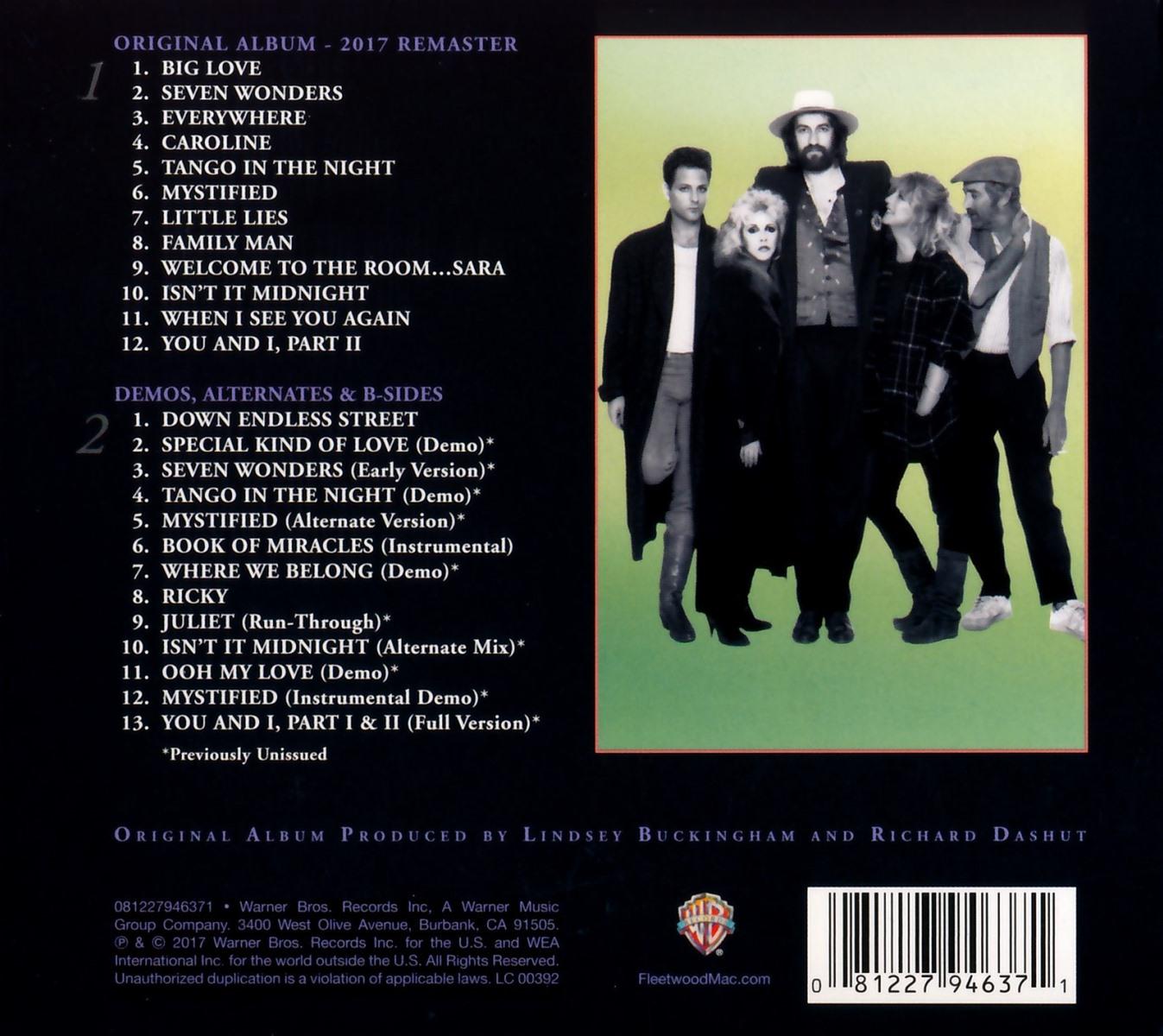 Cover: Everywhere, Fleetwood Mac