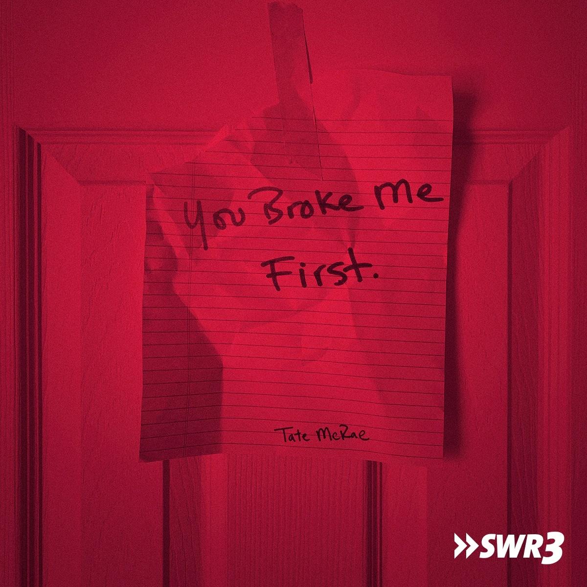 You broke me first (Foto: Tate McRae)