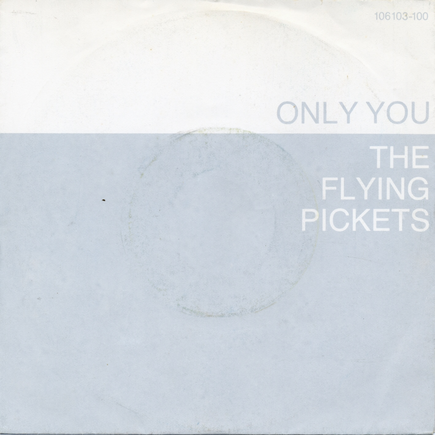 Cover: Only you, The Flying Pickets