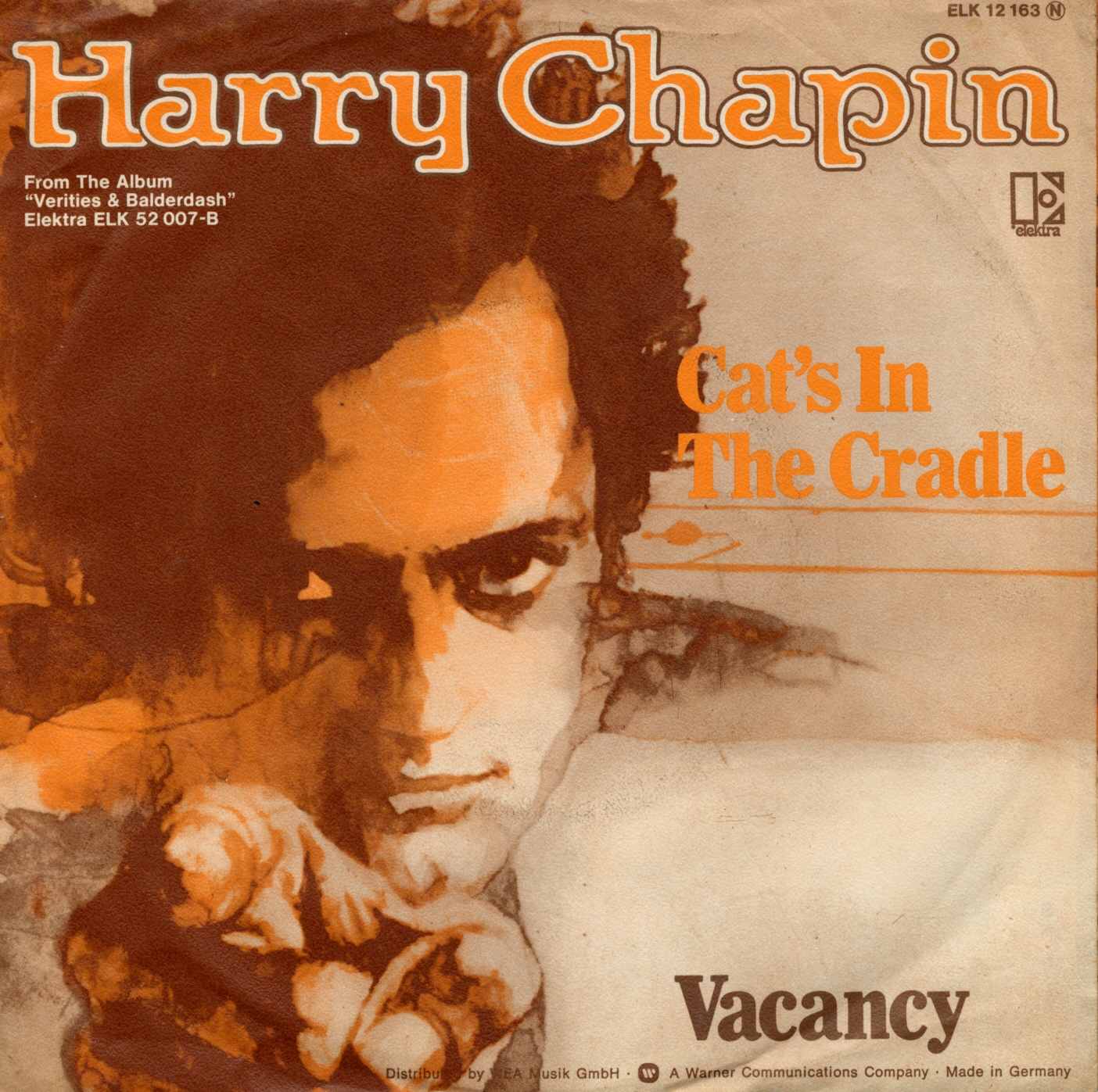 Cover: Cat's in the cradle, Harry Chapin