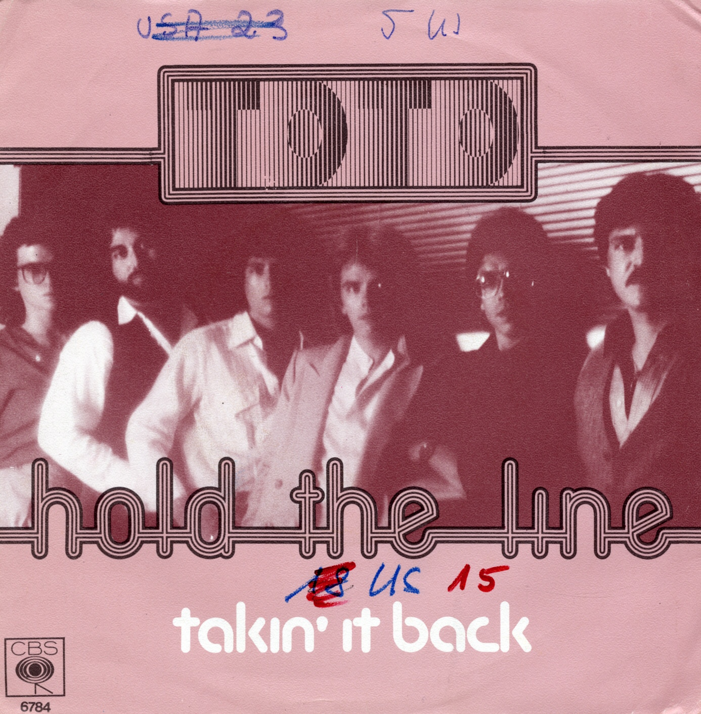Cover: Hold the line, Toto