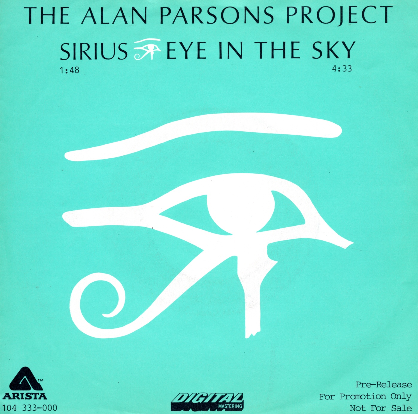 Cover: Eye in the sky, Alan Parsons