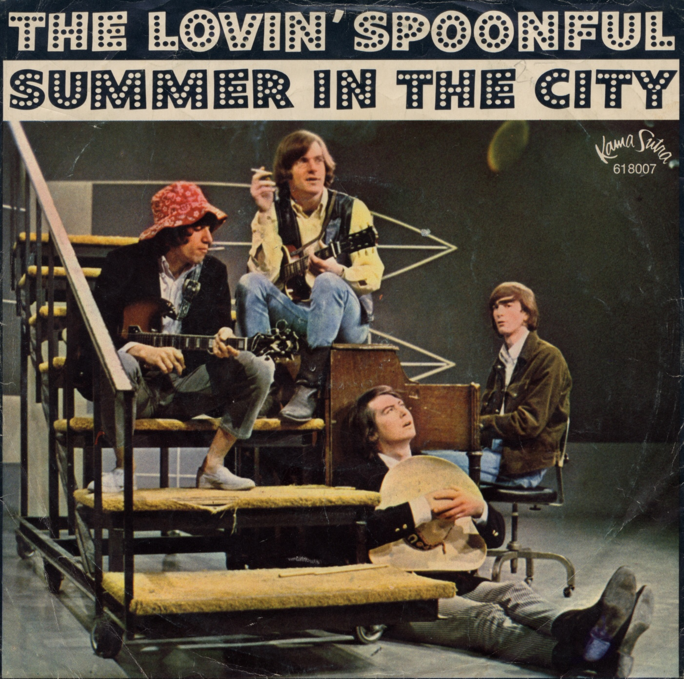 Cover: Summer in the city, The Lovin' Spoonful