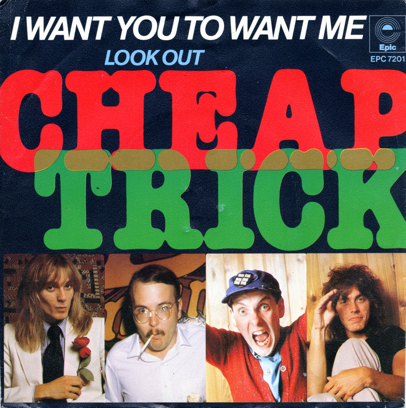 Cover: I want you to want me, Cheap Trick