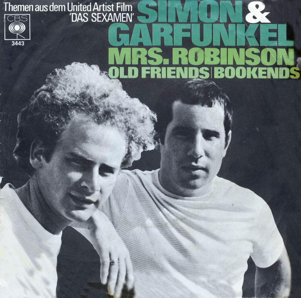 Cover: Mrs. Robinson, Simon & Garfunkel