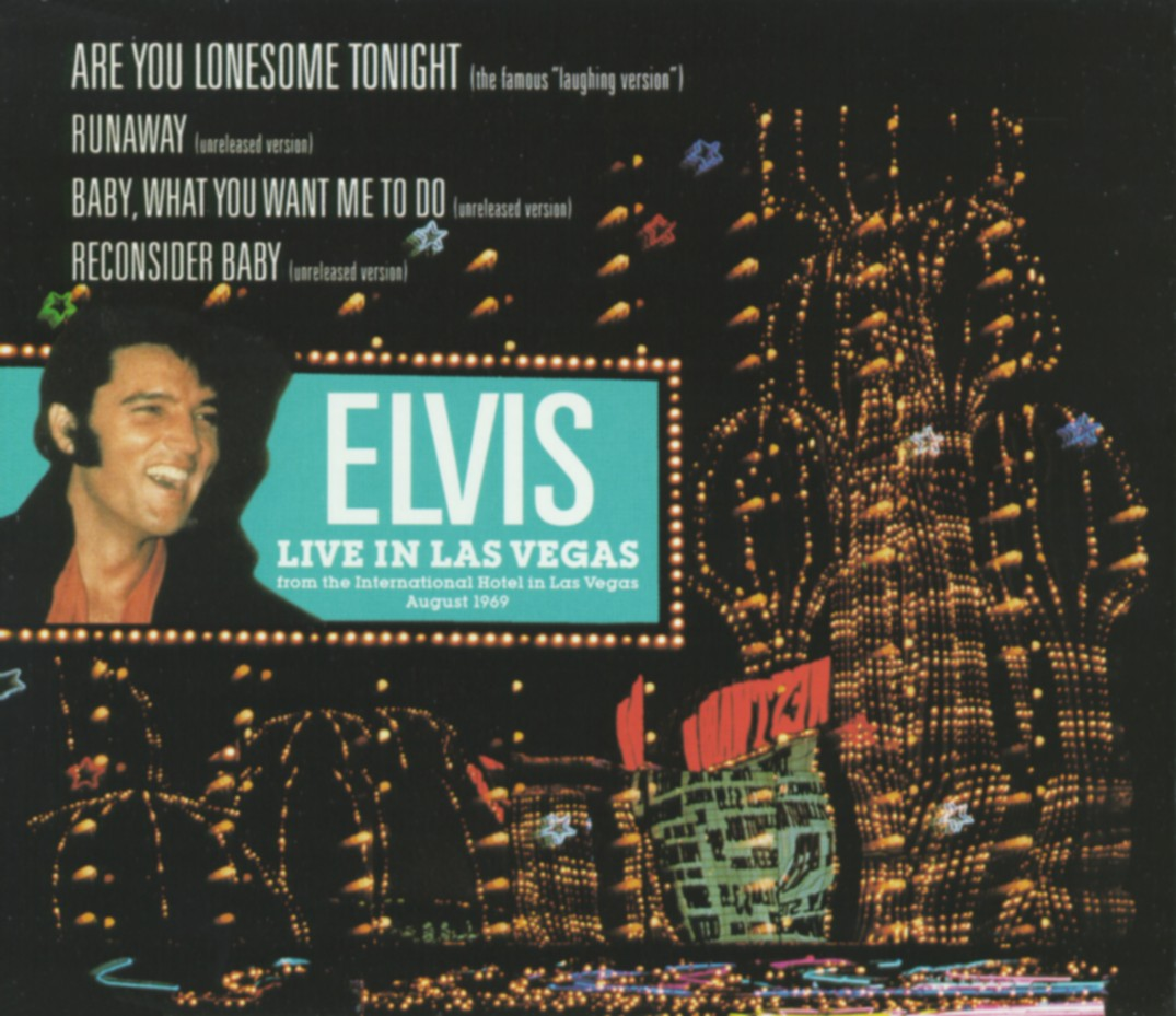 Cover: Are you lonesome tonight (Lachversion), Elvis Presley