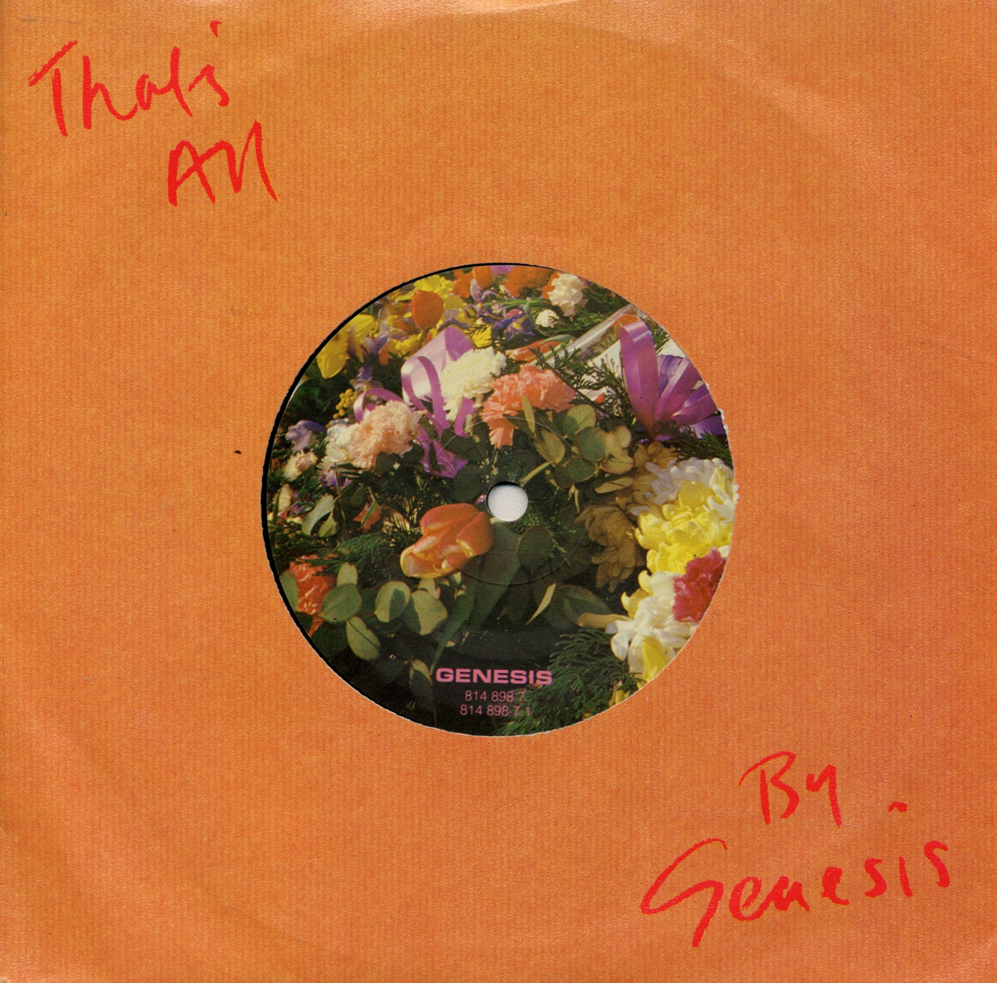 Cover: That's all, Genesis