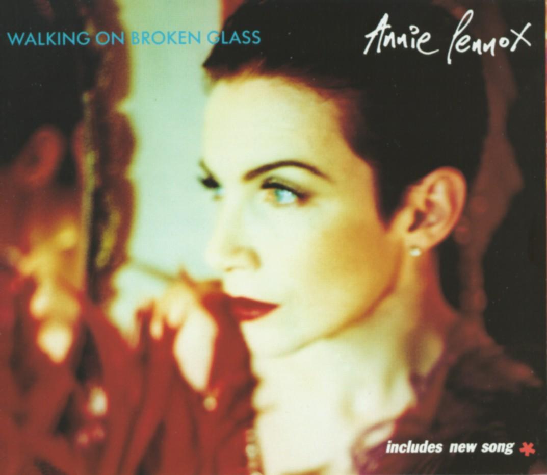 Cover: Walking on broken glass, Annie Lennox