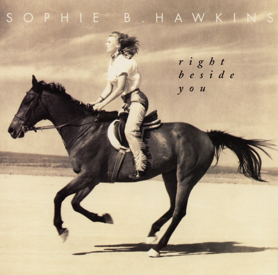 Cover: Right beside you, Sophie B. Hawkins