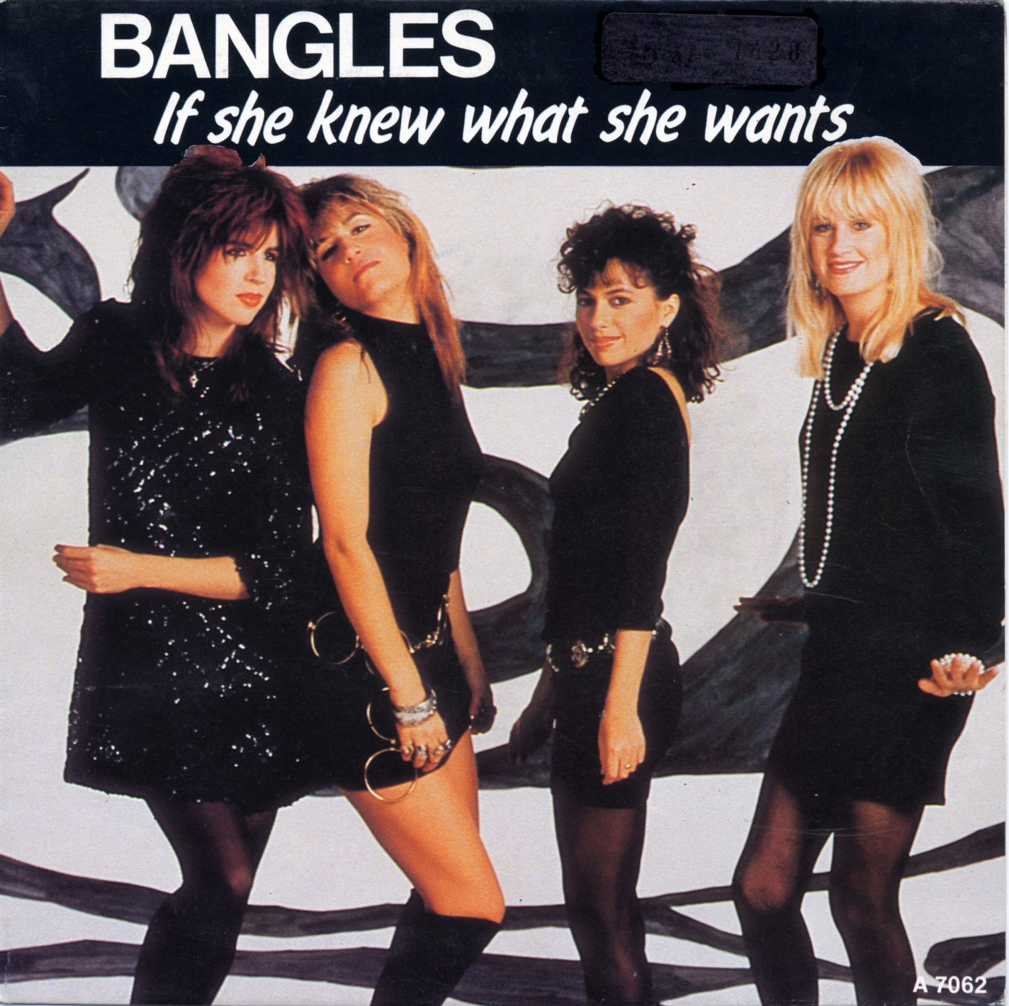 Cover: If she knew what she wants, Bangles