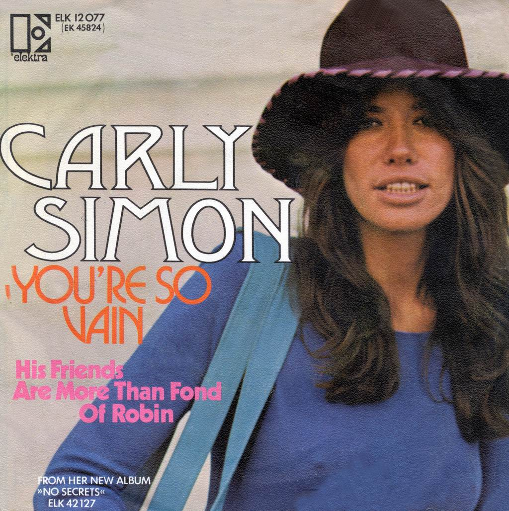 Cover: You're so vain, Carly Simon