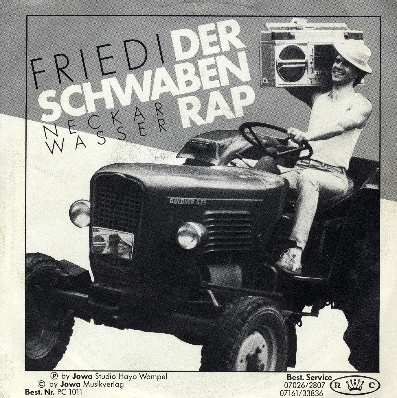Cover: Der Schwaben Rap, Friedi
