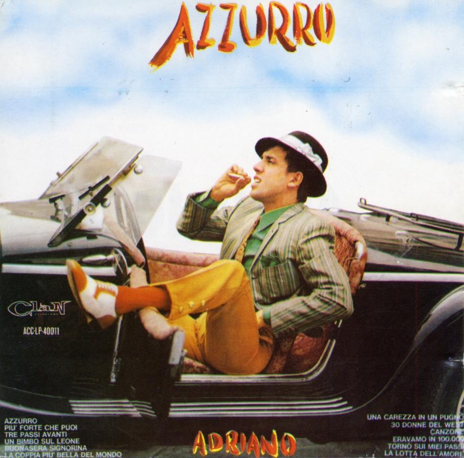 Cover: Azzurro, Adriano Celentano