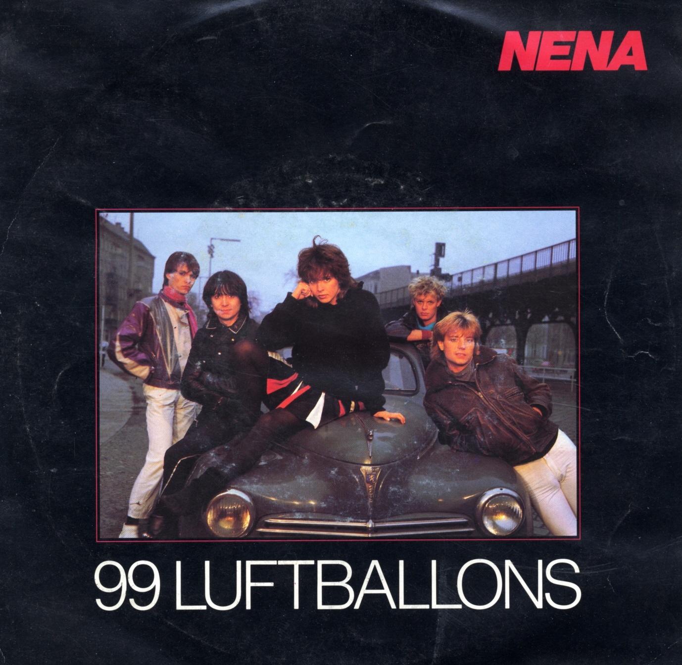 99 Luftballons (Neunundneunzig Luftballons) (Foto: Nena)