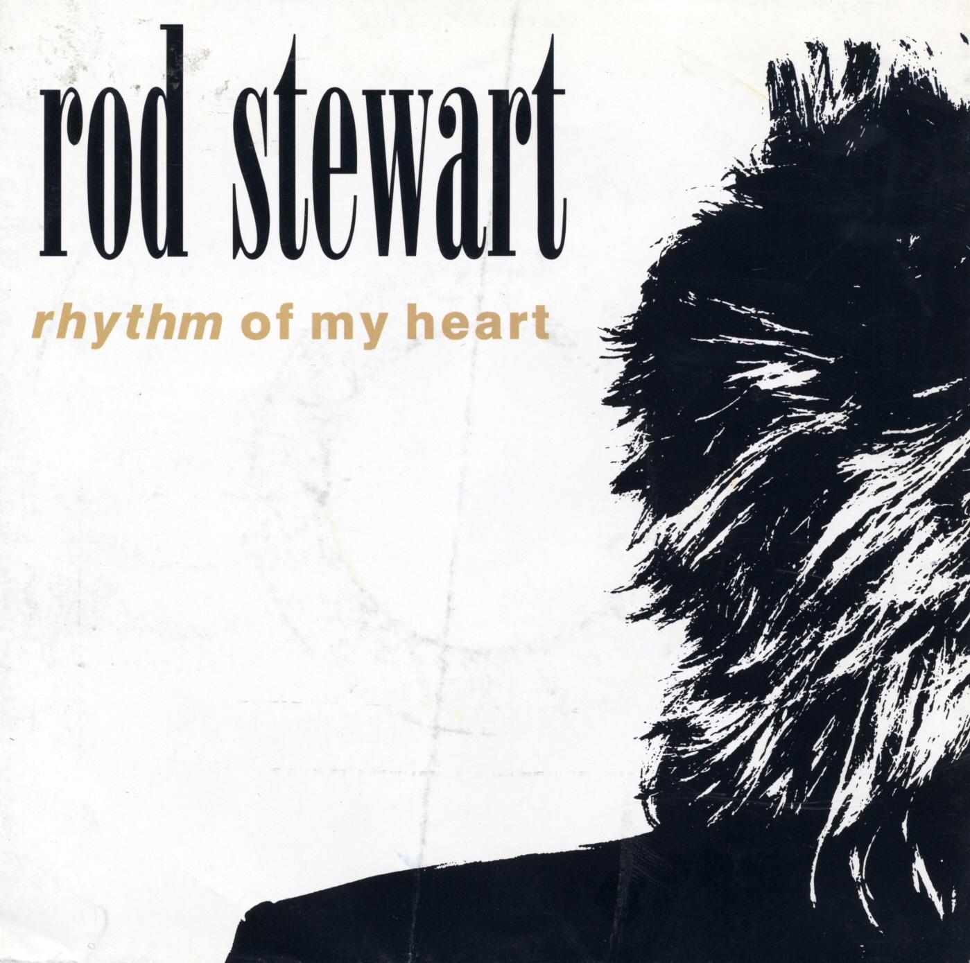 Cover: Rhythm of my heart, Rod Stewart