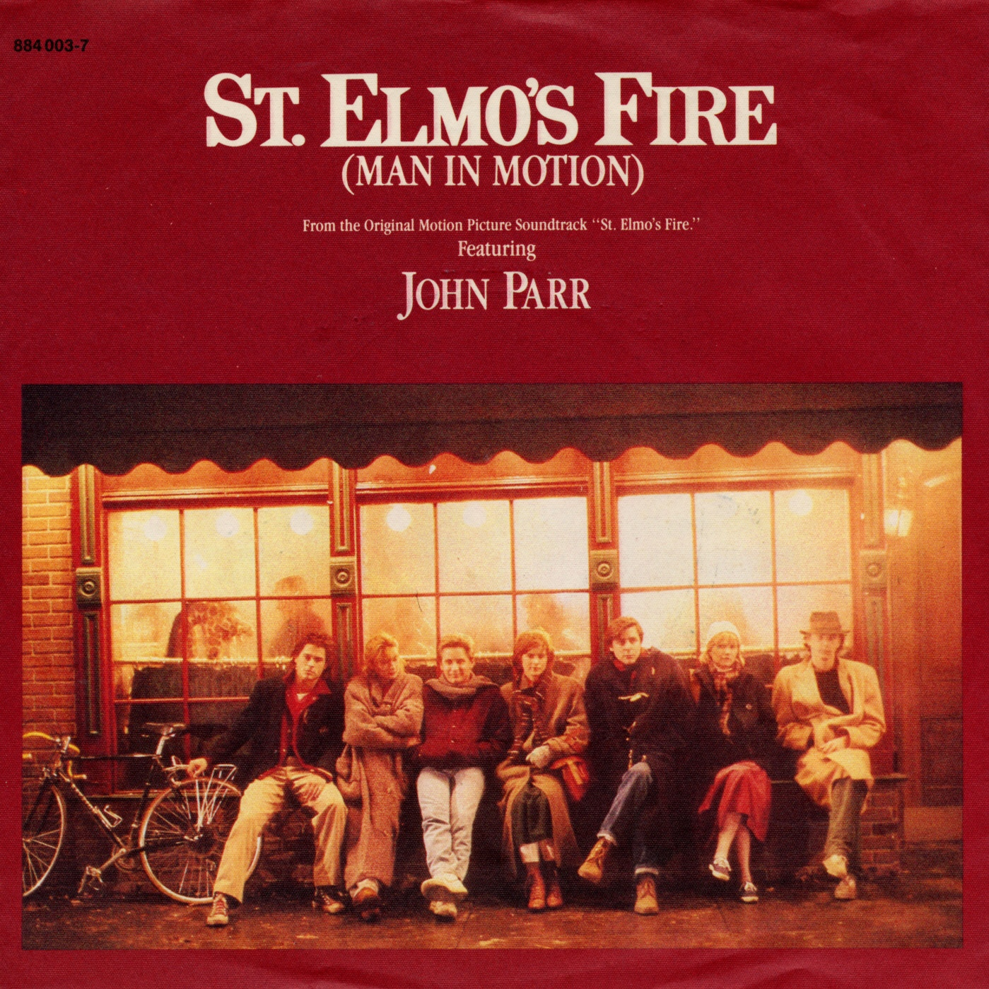 Cover: St. Elmo's Fire (Man in motion), John Parr