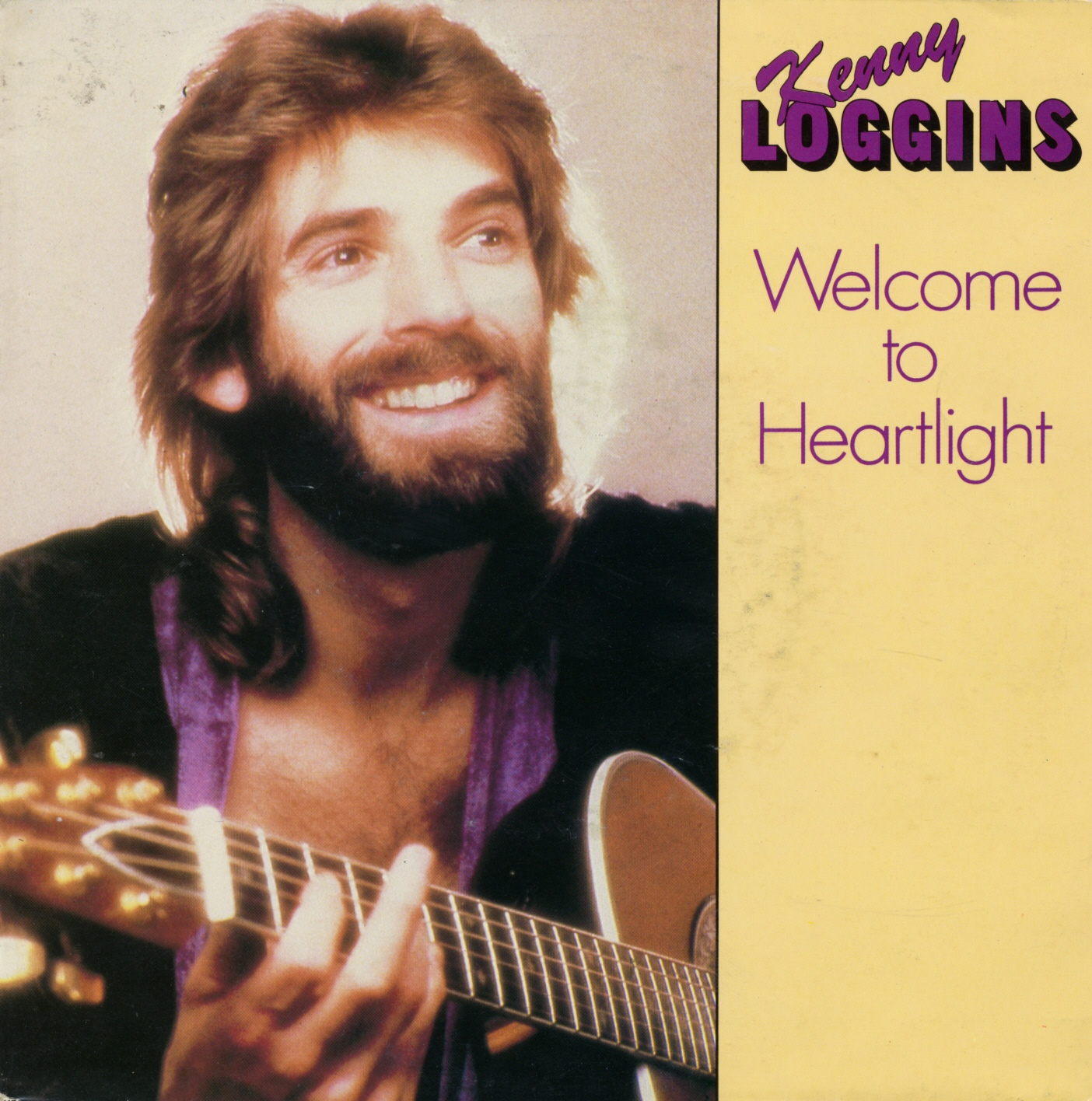 Cover: Welcome to Heartlight, Kenny Loggins