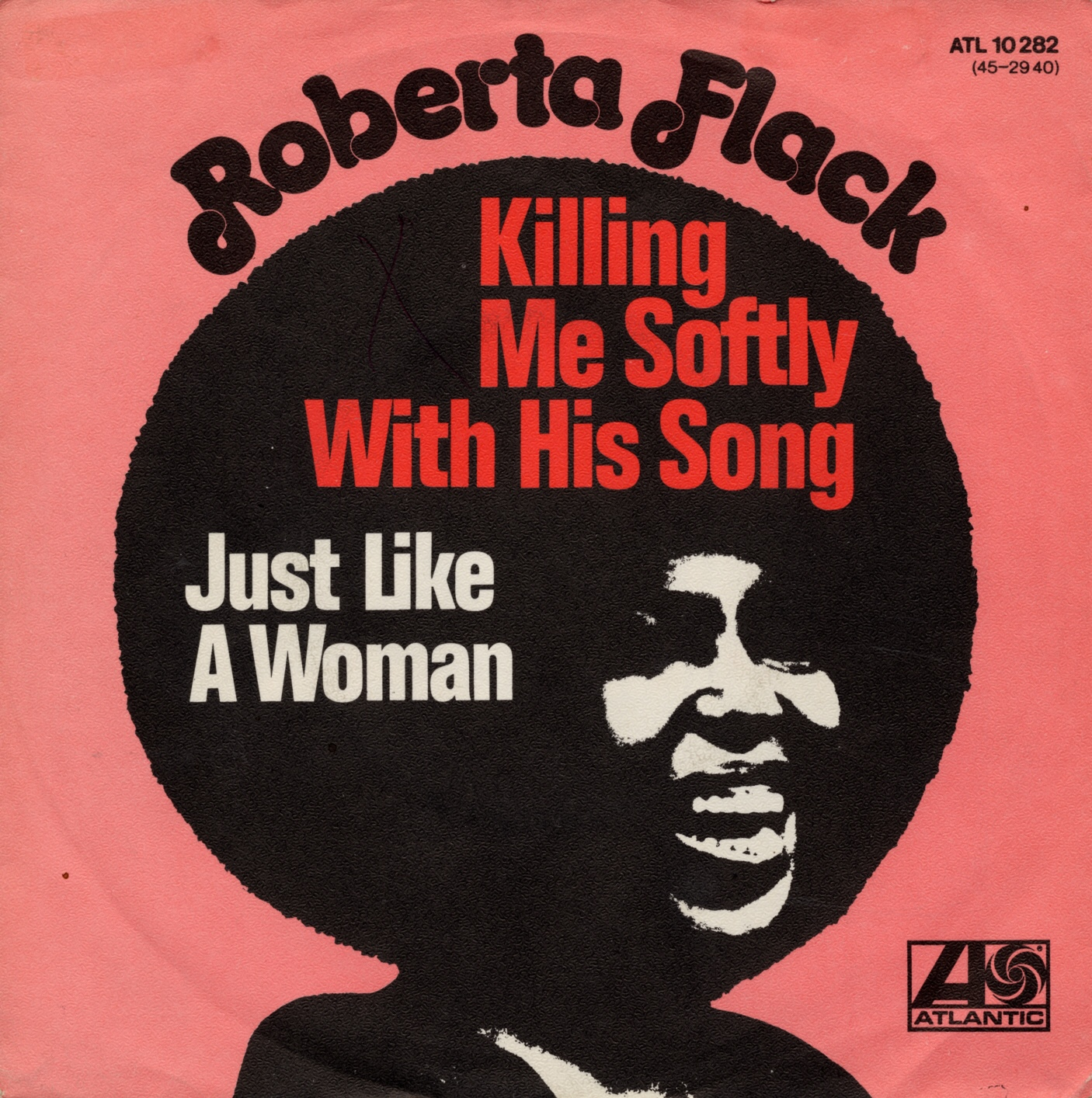 Cover: Killing me softly with his song, Roberta Flack
