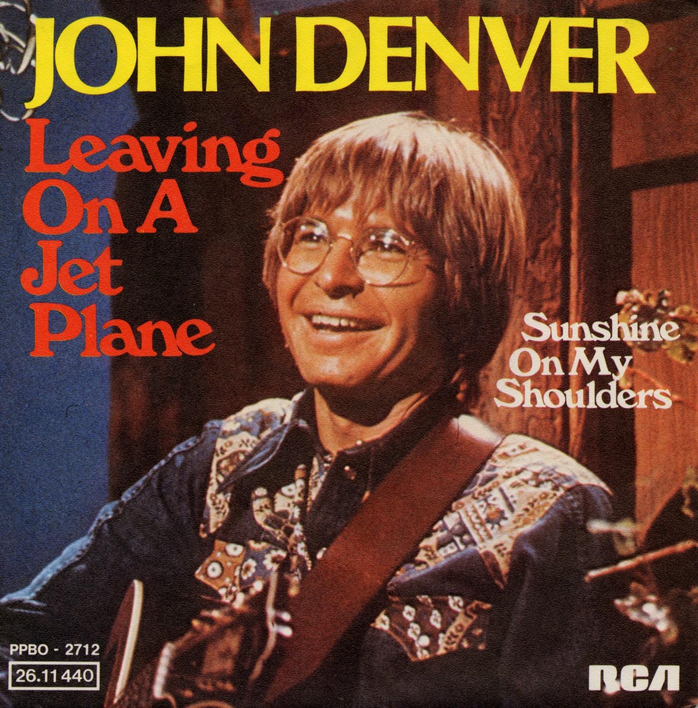 Cover: Leaving on a jet plane, John Denver