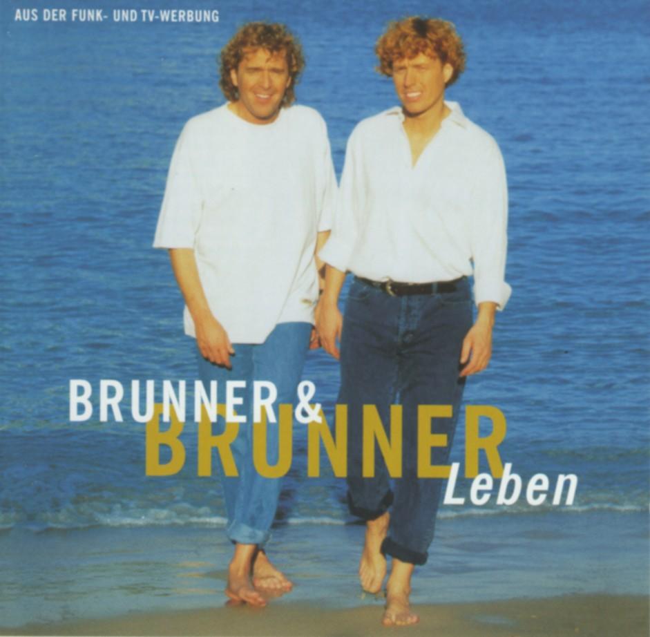 Cover: Wie der Wind wehst du mir ins Gesicht, Brunner & Brunner