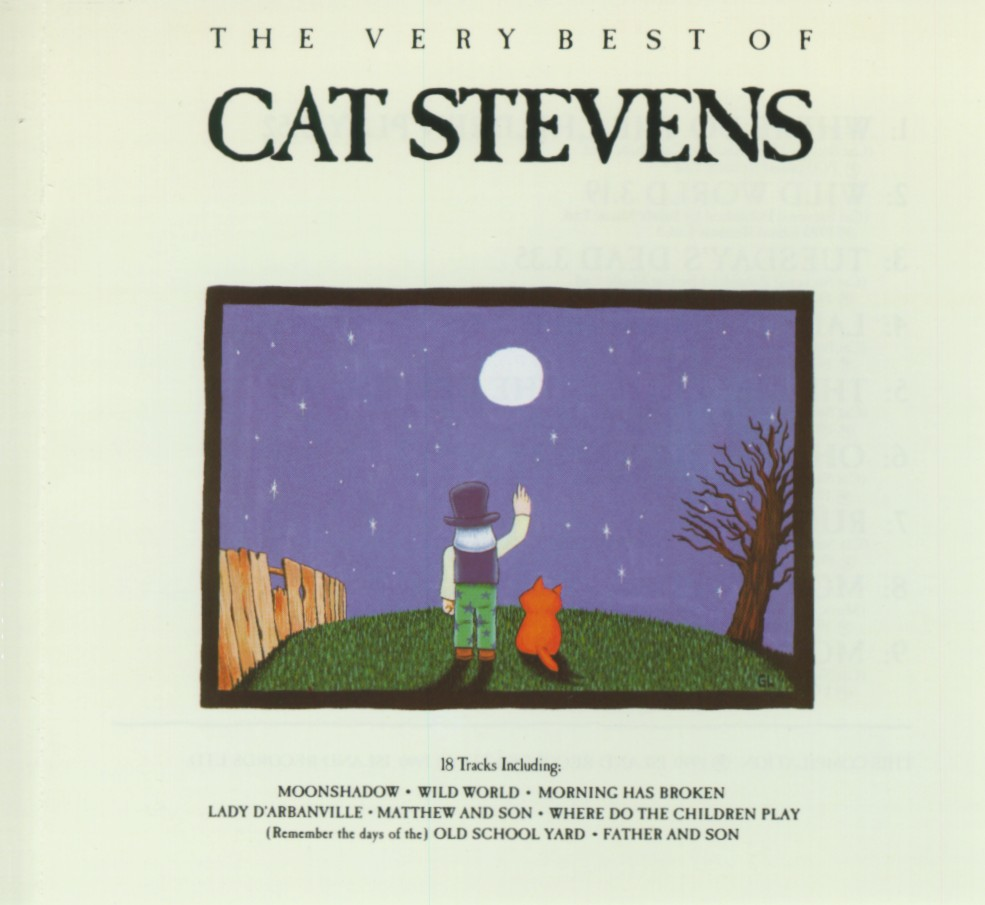 Cover: Can't keep it in, Cat Stevens