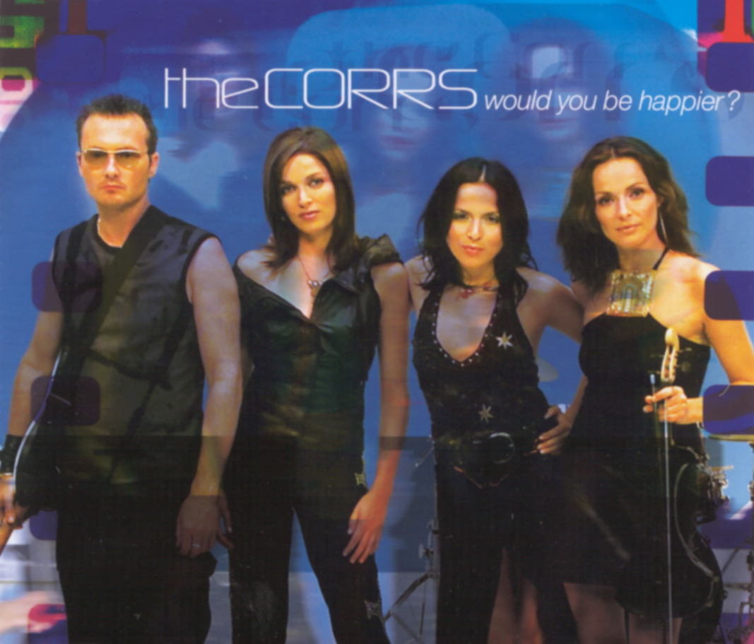 Cover: Would you be happier?, The Corrs
