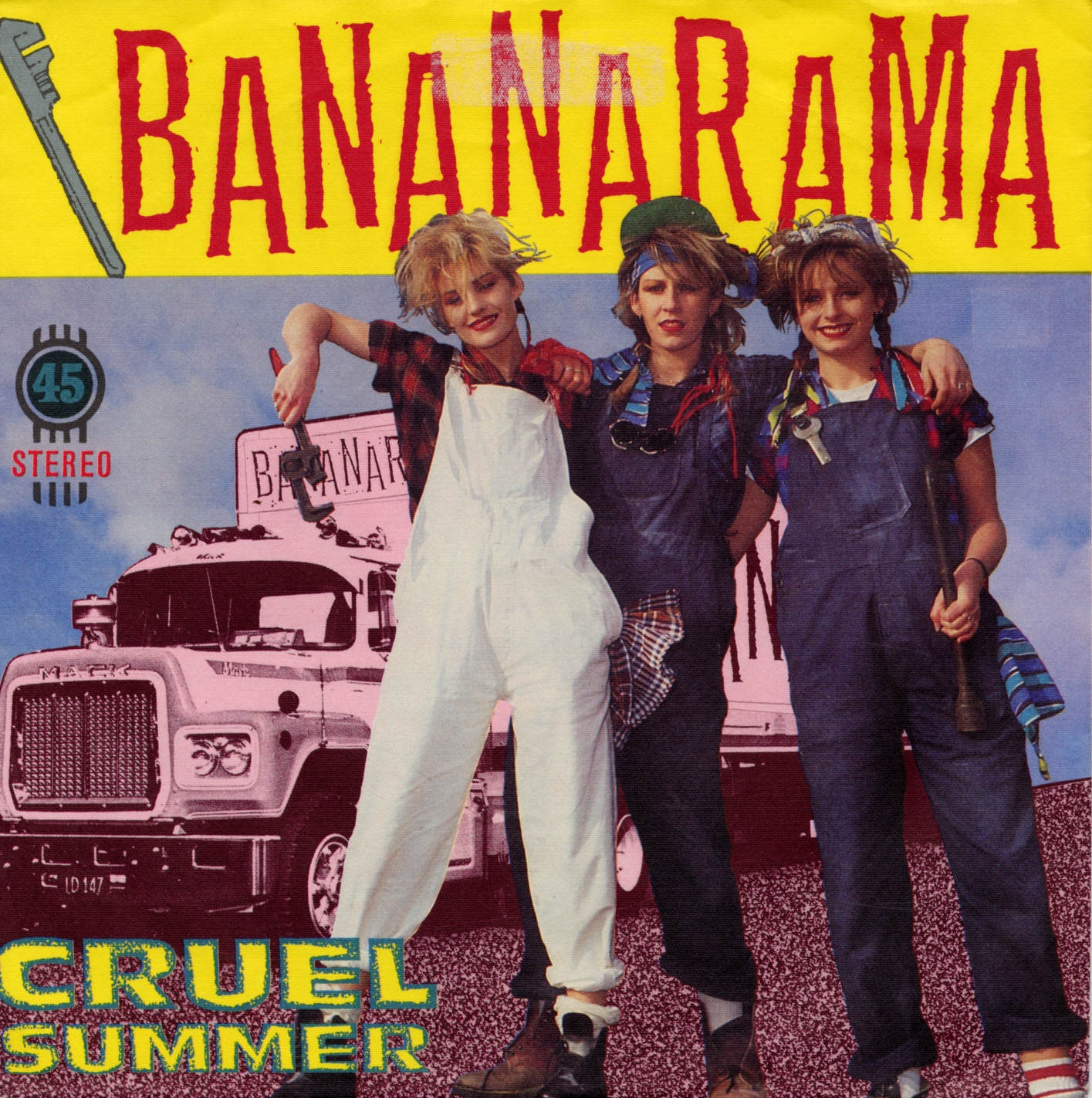 Cover: Cruel summer, Bananarama