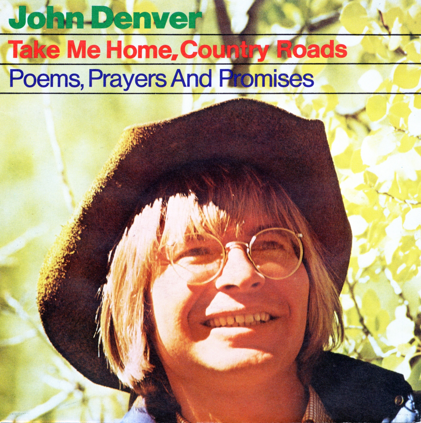 Cover: Take me home country roads, John Denver