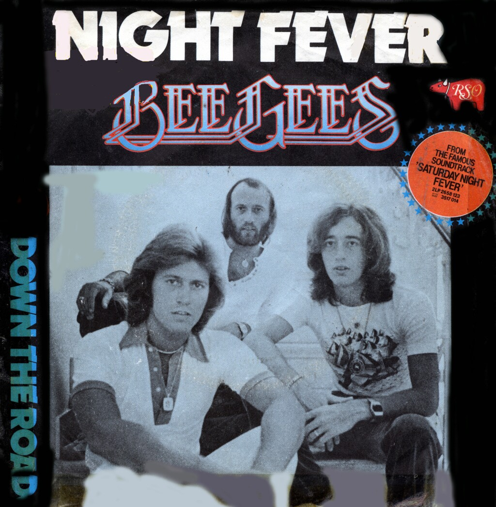 Cover: Night fever, Bee Gees